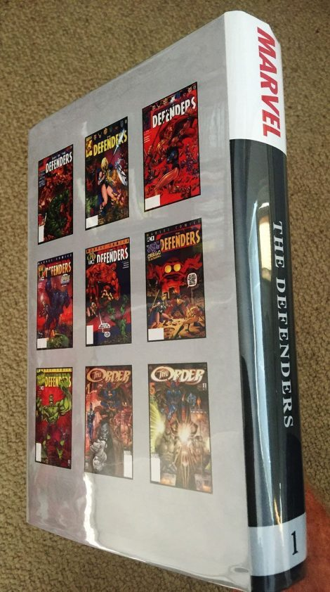 The Defenders (Bound Comics Series with Marvel Masterworks Dustjacket)