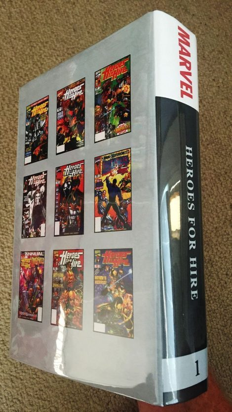 Heroes For Hire (Bound Comics Series with Marvel Masterworks Dustjacket)