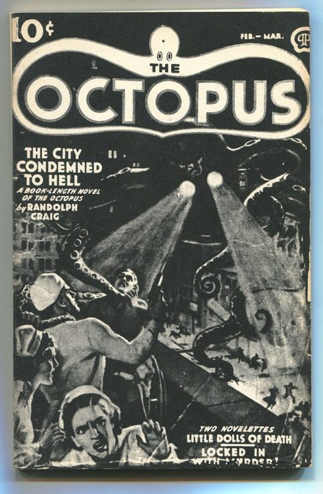 The Octopus: The City Condemned to Hell (Pulp Classics, 1975)