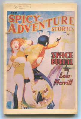 Spicy Adventure Stories (Odyssey Reprint #1)