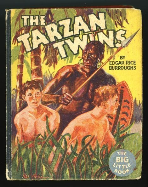 The Tarzan Twins (1935 Whitman Big Little Book #770) front