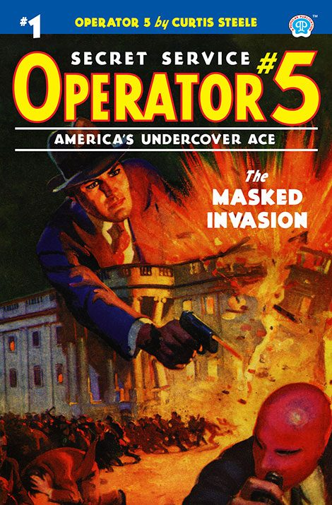 Operator 5 #1: The Masked Invasion