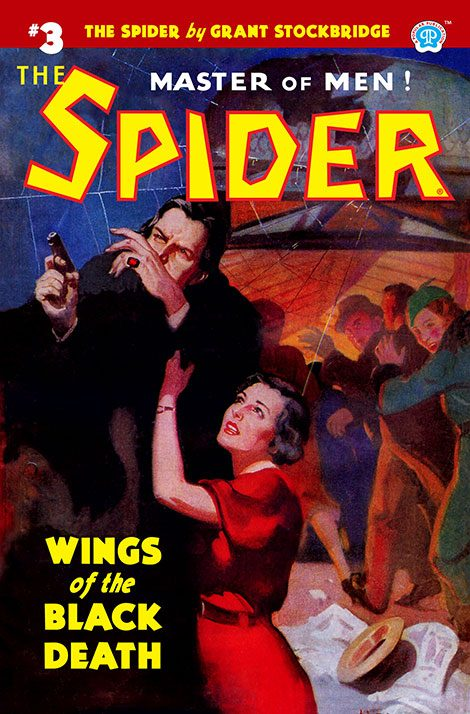 The Spider #3: Wings of the Black Death