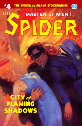 The Spider #4: City of Flaming Shadows