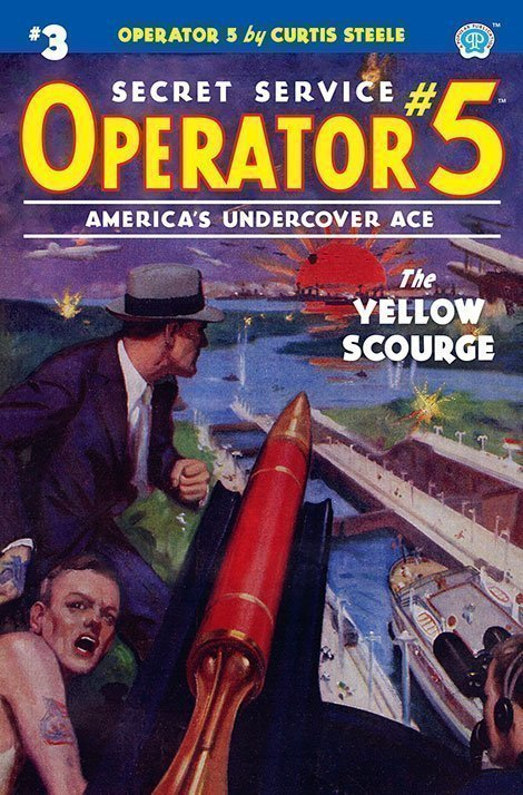 Operator 5 #3: The Yellow Scourge