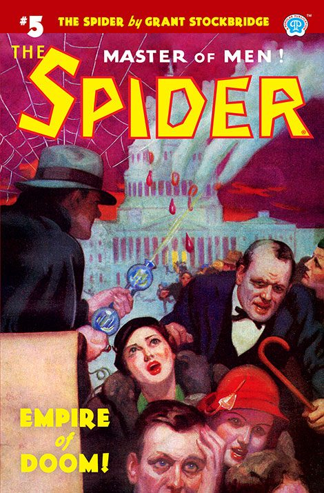 The Spider #5: Empire of Doom!