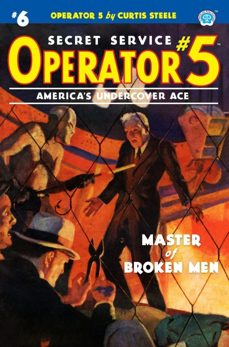 Operator 5 #6: Master of Broken Men