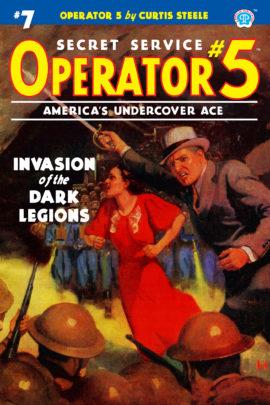 Operator 5 #7: Invasion of the Dark Legions